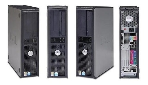 Cpu Dell Optiplex Gx620 Intel Pentium 4 2gb + Monitor 17