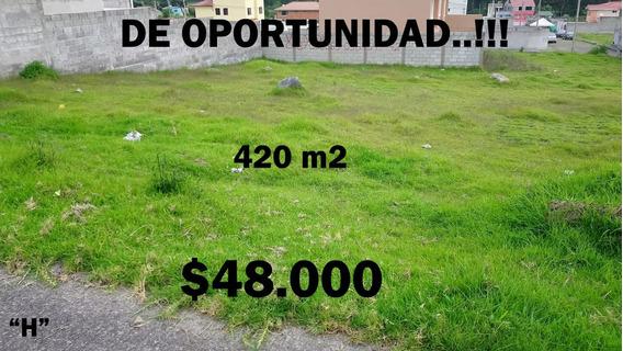 Valle De Los Chillos,hermosos Terrenos 420 M2, Desde 46.500