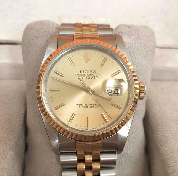 Rolex Datejust Acero Oro 18k