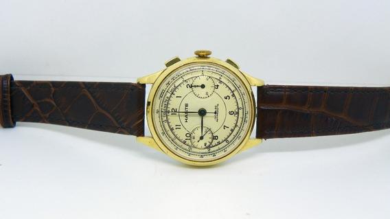 Reloj Haste Movimiento Valjoux 22 Excelente Cosmética.
