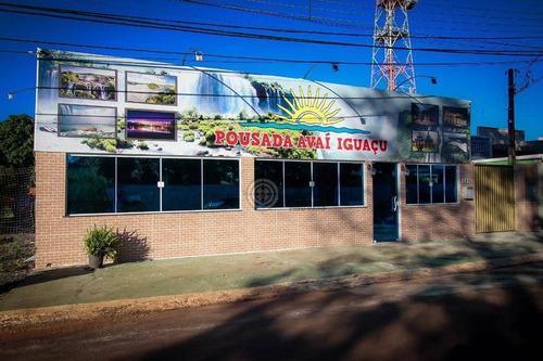 Pousada Com 20 Dormitórios, 700 M² - Venda Por R$ 1.750.000,00 Ou Aluguel Por R$ 7.000,00/mês - Jardim Itamaraty - Foz Do Iguaçu/pr - Po0001
