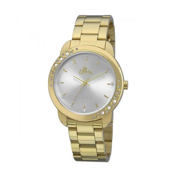 Relógio Analógico Technos Feminino Allora Al2035fbs4k