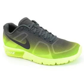 Tênis Nike Air Max Sequent Verde Neon/preto Schuh Haus 6947