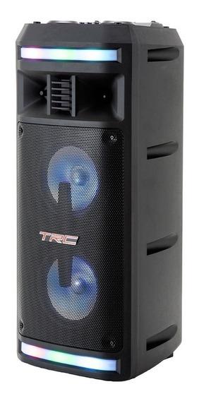 Caixa De Som Bluetooth Trc 335 Ativa - 200w Com Microfone