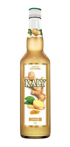 Xarope Kaly Sabor Ginger Gengibre 700ml