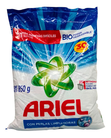 Ariel Dt Regular De 850 Gr