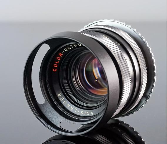 Lente Voigtlander Ultron 50mm 1.8 Com Adapt. Canon Eos-ef