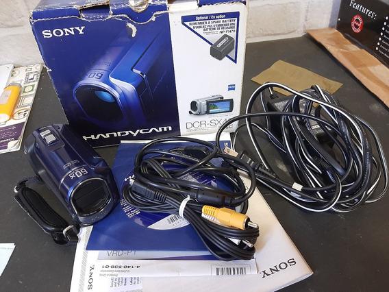 Handycam Sony Dcr-sx40 Completa