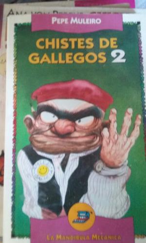 Libro Chistes De Gallegos 2 Pepe Muleiro