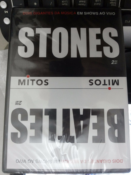 Dvd Mitos Stones E Beatles (duplo)