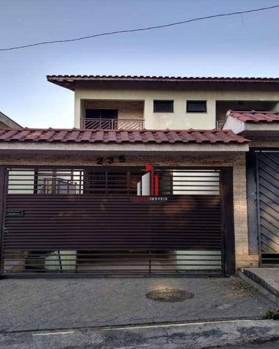 Sobrado Com 3 Dormitórios À Venda, 180 M² Por R$ 650.000,90 - Pirituba - São Paulo/sp - So0008