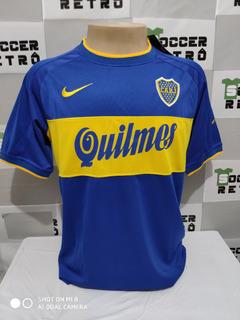 Camisa Boca Juniors 2000 Libertadores E Mundial Riquelme 10