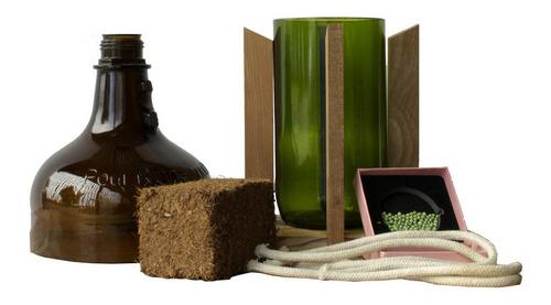 Kit Little Plant 27 Con Soporte, Maceta Autorregante