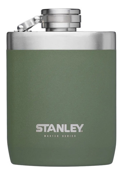 Petaca Stanley 236ml Camping Licor Acero Inoxidable Verde