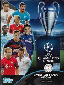 Álbum De Figurinhas Uefa Champions League 2015 2016 Completo
