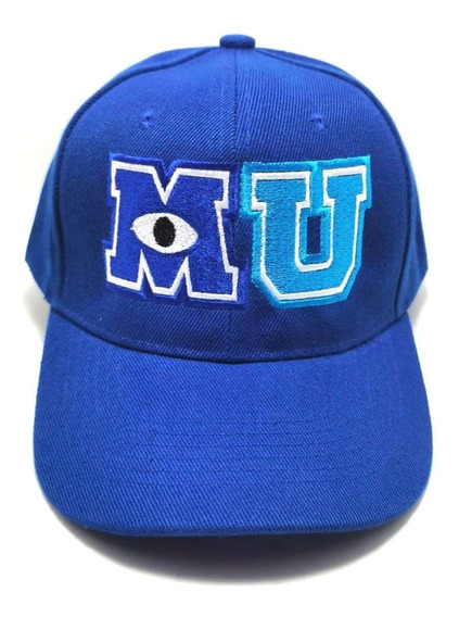 Gorra Mu Monsters University Azul Niños Sully Envio Gratis