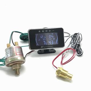 Pantalla Reloj Presion Aceite Temperatura De Agua Voltimetro