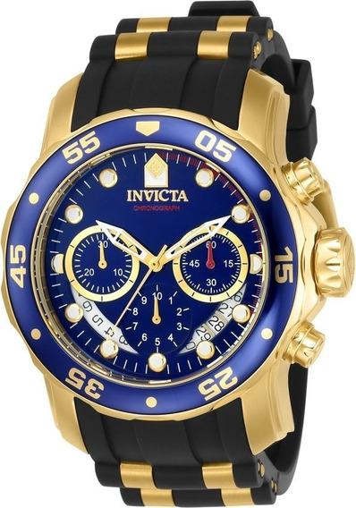 Relógio Invicta Pro Diver Reserve Nº6983 Scuba Golden Blue