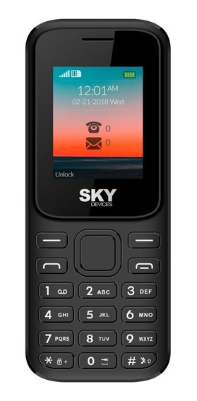 Celular Libre Barato Dual Sim Sky F Cámara Fm Gtia Cuotas!