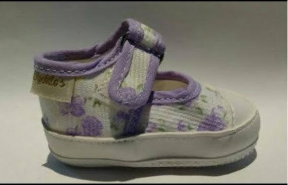 Zapatillas Zapatitos Bebés No Caminantes Nene Nena