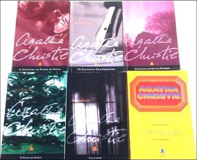 Agatha Christie: Lote Com 06 Livros Clássicos!