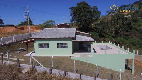 Chácara Com 3 Dormitórios À Venda, 1130 M² Por R$ 550.000,00 - Zona Rural - Pinhalzinho/sp - Ch1408