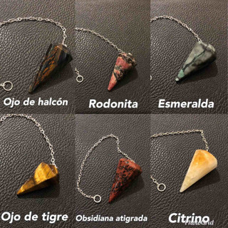 Pendulos De Piedra Natural