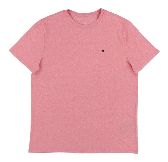Camiseta Básica Tommy Hilfiger Tamanho Gg / Xl Original