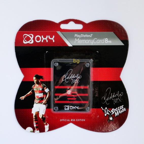 Memory Card Ps2 Playstation Flamengo Kit 2pç