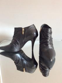 Po Zapatos Botines Negros Gacel, Nro 40.
