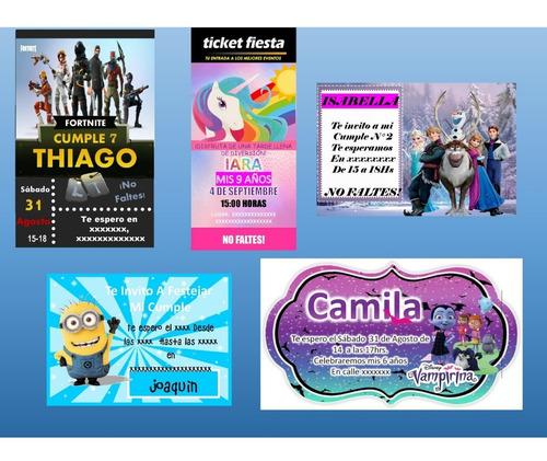 Tarjetas Digitales + Archivo Para Impresión De Regalo!!!