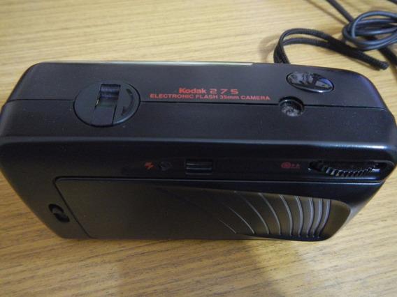 Camera Fotografica Kodak 275 Com Case Original