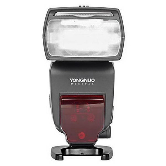 Flash Yongnuo Speedlite Yn660 Para Câmeras Canon - Preto