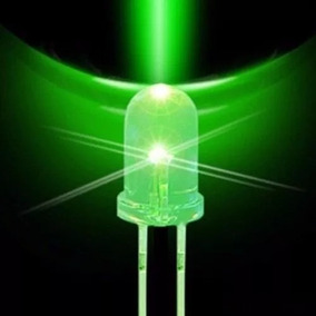 Kit 10 Leds - Alto Brilho 5mm - Verde 12.000mcd