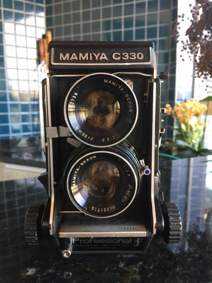 Câmera Mamiya C330 Professional F 2.8 80mm