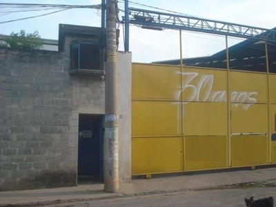 Galpão Industrial Para Locação, Piraporinha, Diadema - Ga1556. - Ga1556
