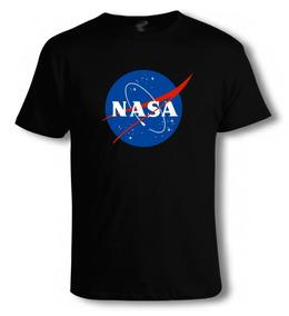 Playera O Camiseta Nasa 100% Algodon Todas Las Tallas