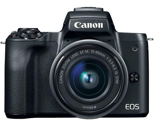 Câmera Canon Mirrorless Eos M50 + 15-45mm Is Stm Sem Juros