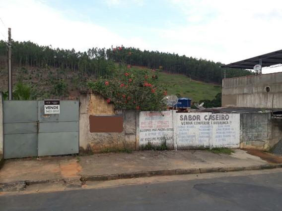 Terreno Com Casa Vila Reis Cataguases Mg Brasil - 975