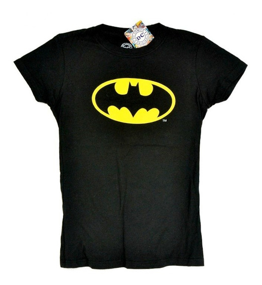 Batman Dc Comics Playera De Dama 100% Original