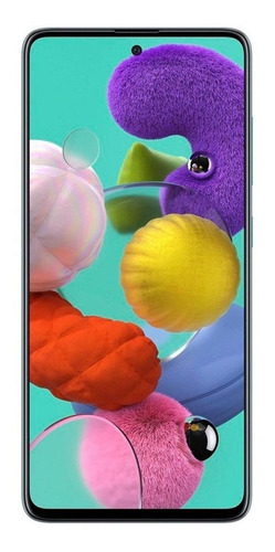 Celular Smartphone Samsung Galaxy A51 A515f 128gb Azul - Dual Chip