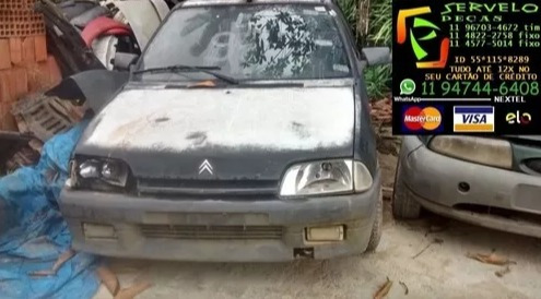 Sucata Citroën Ax (p/ Reitrada De Peças)