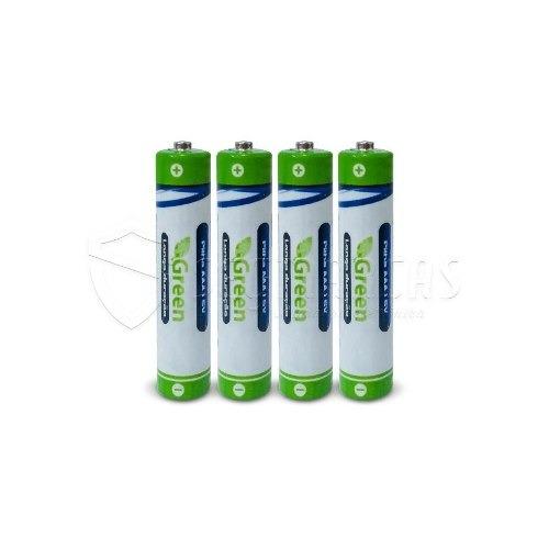 Kit 16 Bateria Pilha Palito Green Aaa R03p