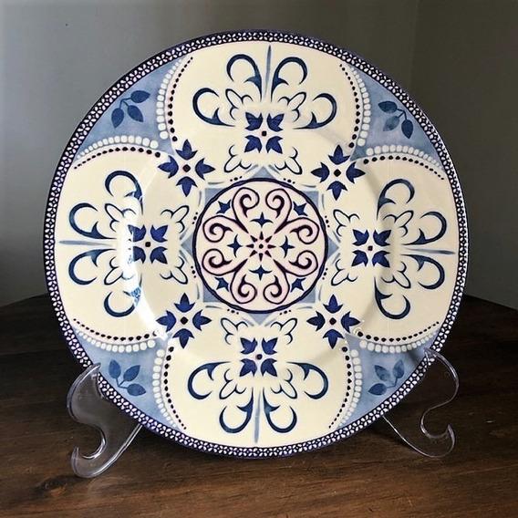 Prato Decorativo Mandala D19