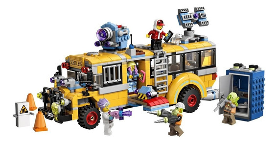 Lego Hidden Side - Ônibus Interceptor Paranormal 3000