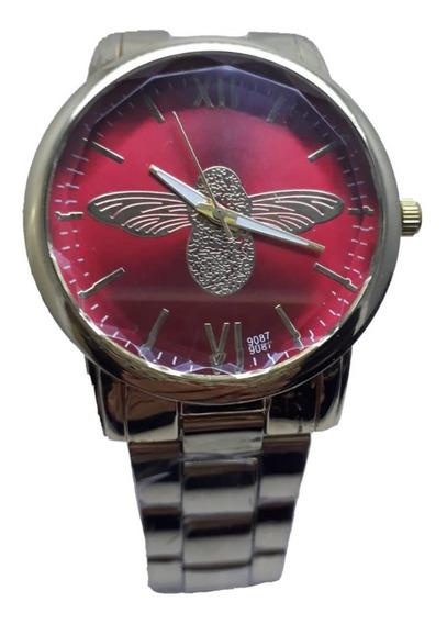 Relógio Feminino Dourado Luxo Mulheres Presente P/ Namorada