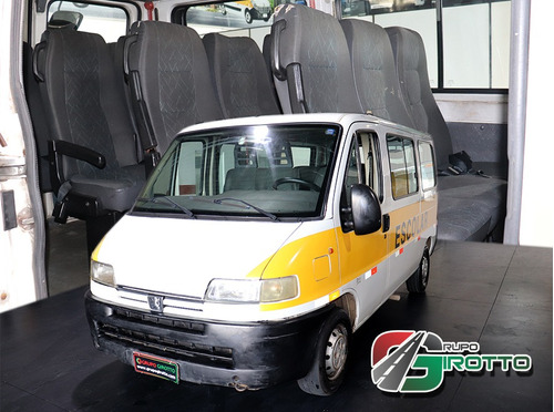 Peugeot Boxer Escolar 15 Lugares 2003 Seminova Financiada