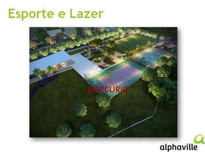 Terreno À Venda, 487 M² Por R$ 430.000 - Residencial Alphaville - Bauru/sp - Te1203
