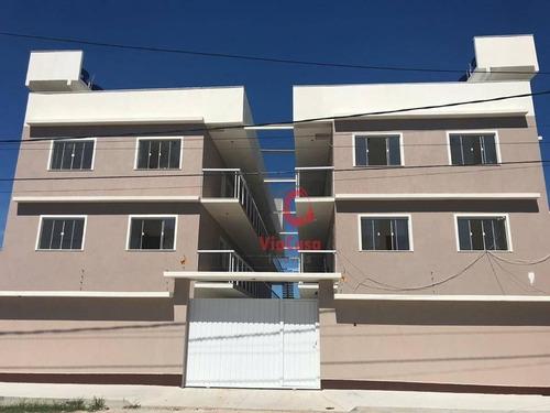 Imagem 1 de 8 de Apartamento, 2 Quartos, Peixe Dourado I - Barra De São João - Rj - Ap1320