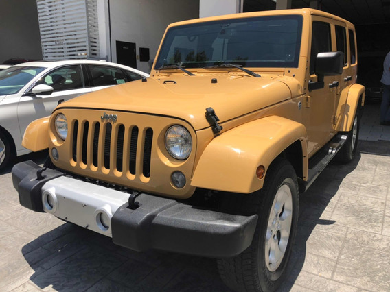Jeep Wrangler 3.6 3p Unlimited Sahara 4x4 At 2014